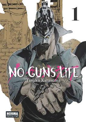 No Guns Life 1 / Novedades Mayo 2017 Norma Editorial