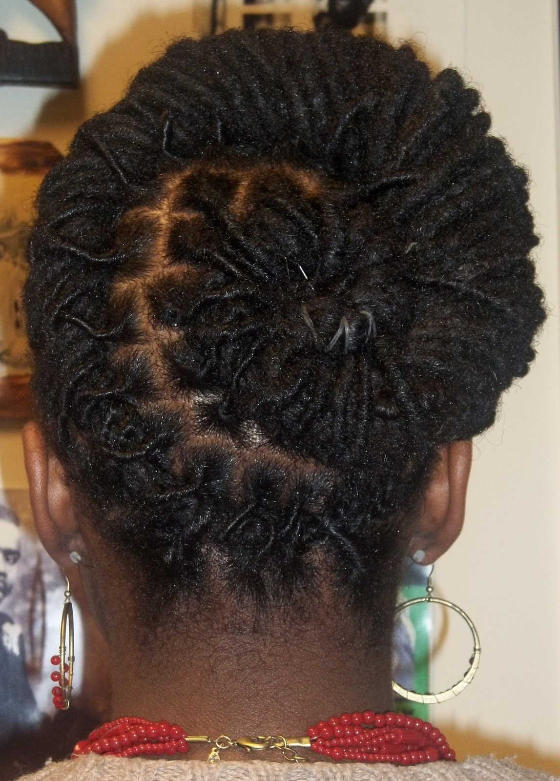 Love Of Locs Loc Updo