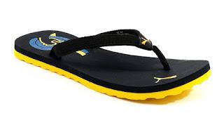 Puma Wave Blue Flip Flops