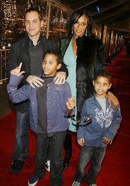 Actor Brian Adams and his family...