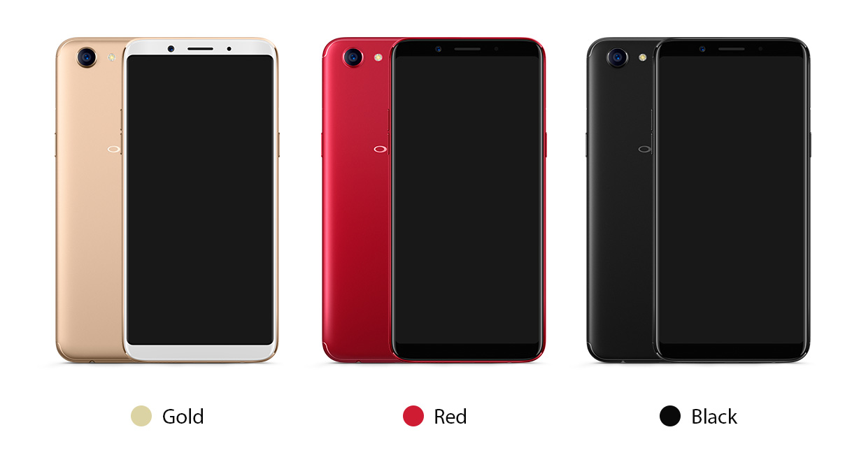Oppo F5 Specifications and price