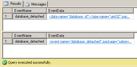 Dave Mason SQL Server Extended Events - ring_buffer event_file 01