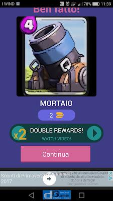 Indovina la carta Royale soluzione livello 62