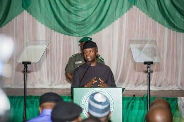 War against corruption: Osinbajo calls for sanction of banks that aid financial crimes