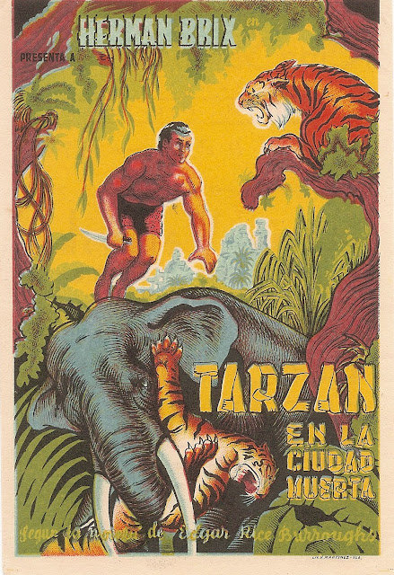 Programa de Cine - Tarzán en la Ciudad Muerta - Herman Brix - Ula Holt