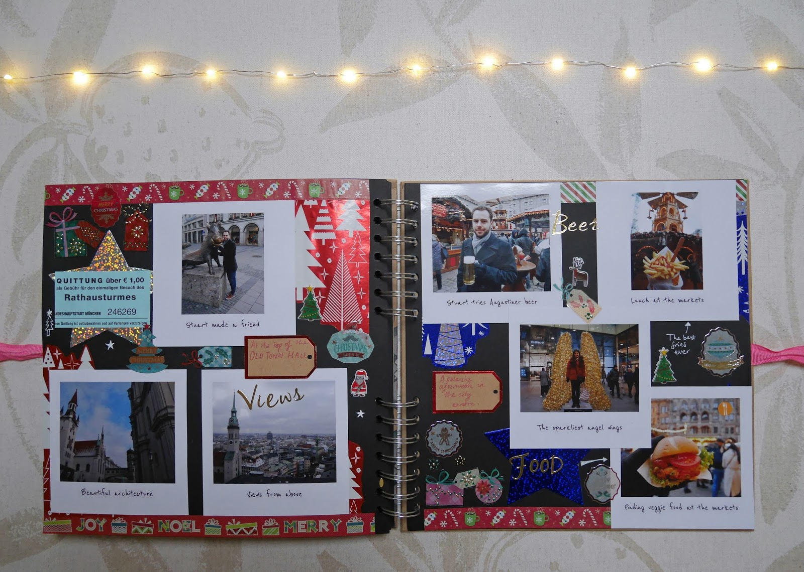 2017 travel scrapbook - Munich