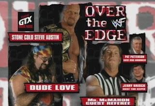 WWF - Over the Edge 1998 Review - Dude Love vs. WWF Champion Stone Cold Steve Austin