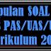 Soal UKK Seni Budaya SMP Kelas 7 Kurikulum 2013 Tahun 2018