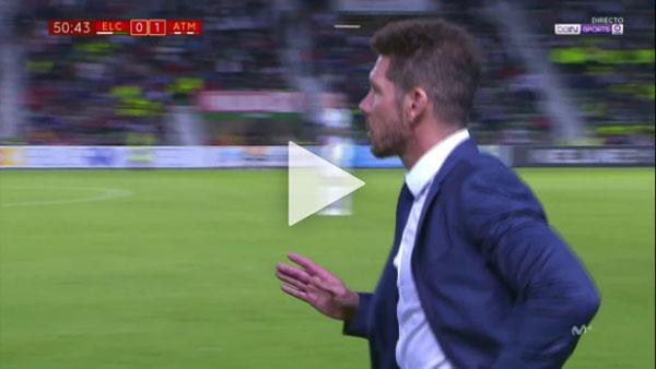 Video Elche 1 - 1 Atletico Madrid Cúp Nhà Vua