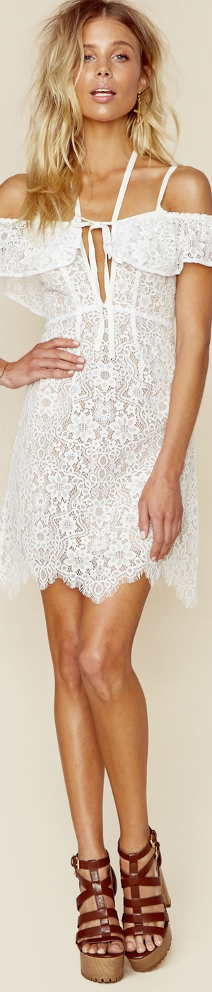 For Love And Lemons Rosemary Mini Dress