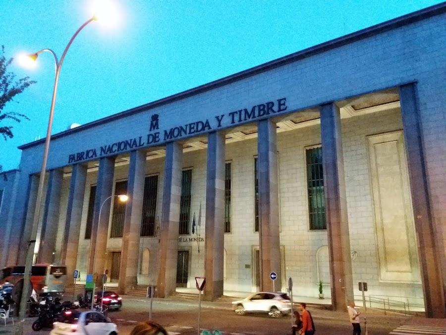 Fábrica Nacional de Moneda y Timbre, Madrid
