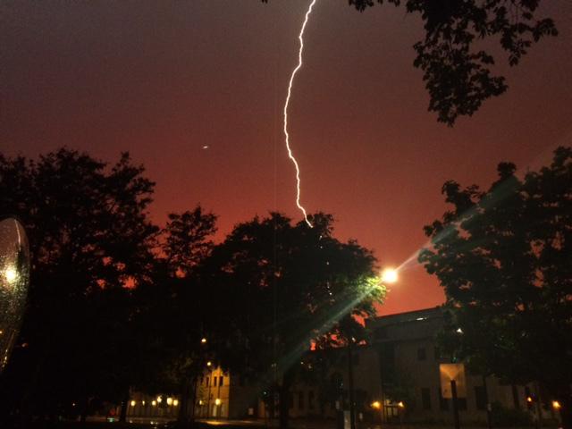 More Global Floods & Violent Storms Lightning-in-green-bay