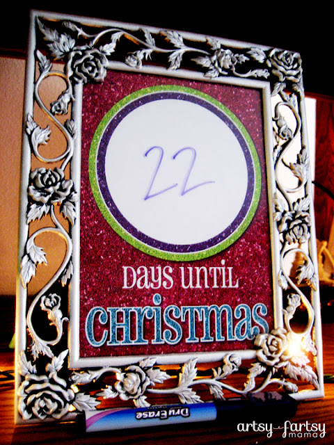 Days Until Christmas Printable.Christmas Countdown Printable Artsy Fartsy Mama