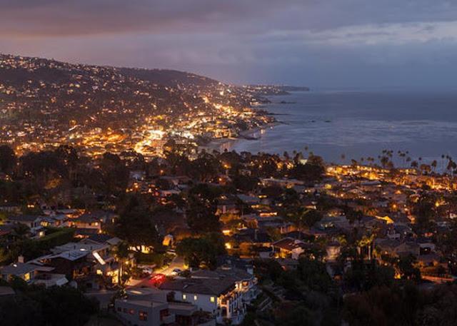 O que fazer a noite em Laguna Beach