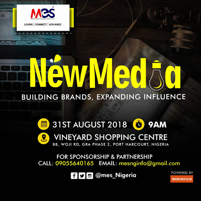 #MESPH2018: Port Harcourt Gears Up For Media Enterprise Summit 2018 [Press Release]