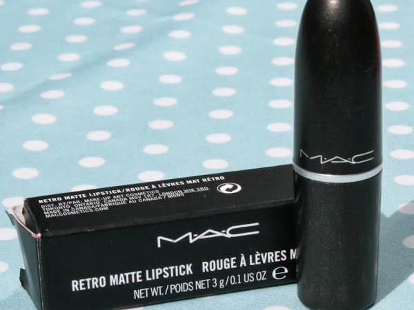 MAC Riri Woo Lipstick - Swatches & Review