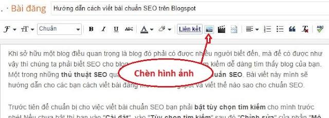 Cách viết bài chuẩn SEO trên Blogspot/Blogger