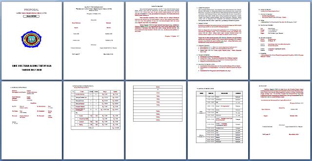 Proposal Kegiatan Ldks Dilengkapi File Ms Word Pelajaran Sekolah Bank Soal