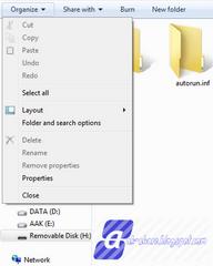 Cara Mengembalikan file yang terkena virus di Flashdisk tanpa Software
