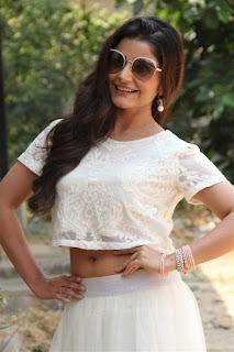 Actress Aqsa Bhatt Stills At Oru Melliya Kodu Movie Audio Launch  0003.jpg