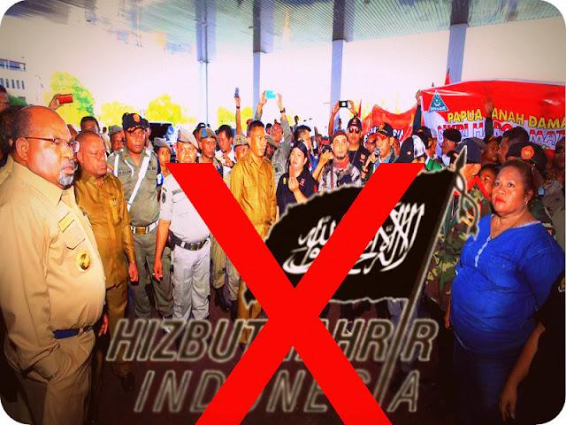 Warga Papua dan Lukas Enembe Tolak Hizbut Tahrir dan Front Pembela Islam