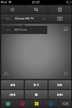 Official and Unofficial WD TV Live Remote Control Apps Part 1