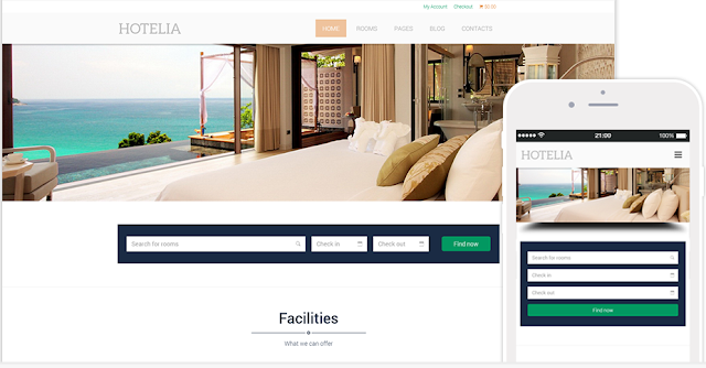 Hotelia Wordpress WooCommerce Themes