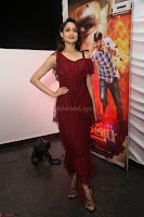 Pragya Jaiswal in Stunnign Deep neck Designer Maroon Dress at Nakshatram music launch ~ CelebesNext Celebrities Galleries 034.JPG