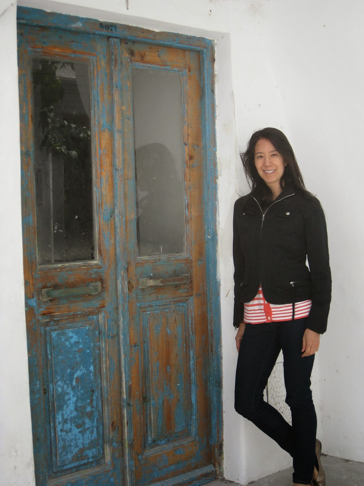Mykonos - I'm loving those weather-beaten doors