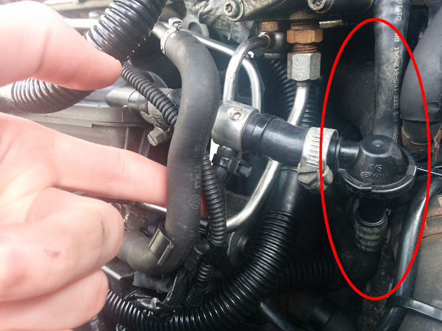 Leaking vacuum pump or shot check valve? - VW GTI Forum / VW Rabbit