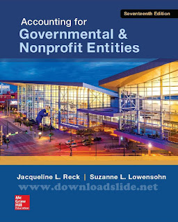 Accounting For Governmental & NonProfit Entities 17h Edition by Reck & Lowensohn