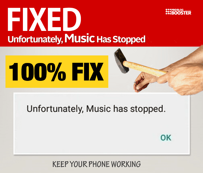 Unfortunately Music Has Stopped
