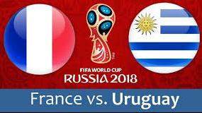 مباراة فرنسا و أروجواي - دور ال8 كأس العالم 2018