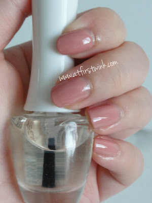 Top coat of the Face Shop
