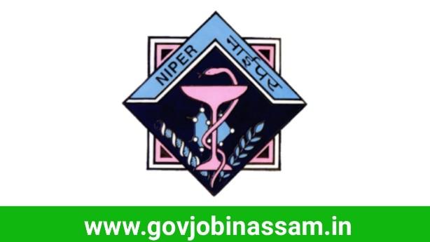 NIPER-Guwahati Recruitment 2018