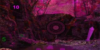 Midnight Purple Forest Secrets Escape Solución