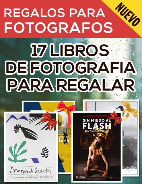 Libros de fotografía para regalar a fotógrafos