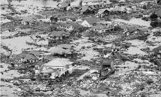 Suasana Tsunami Aceh