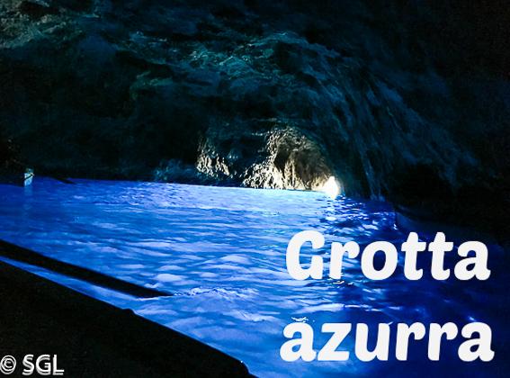 Grotta Azurra en la isla de Capri
