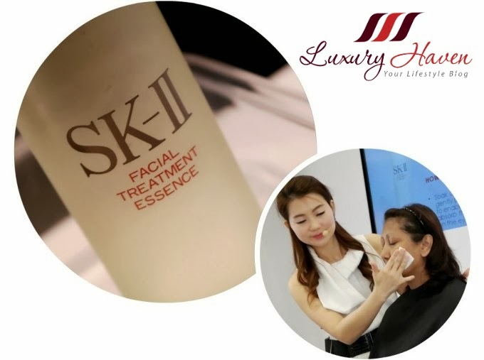 skii facial treatment essence workshop