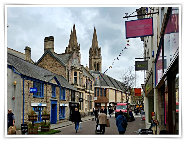 Shops in Truro, Cornwall