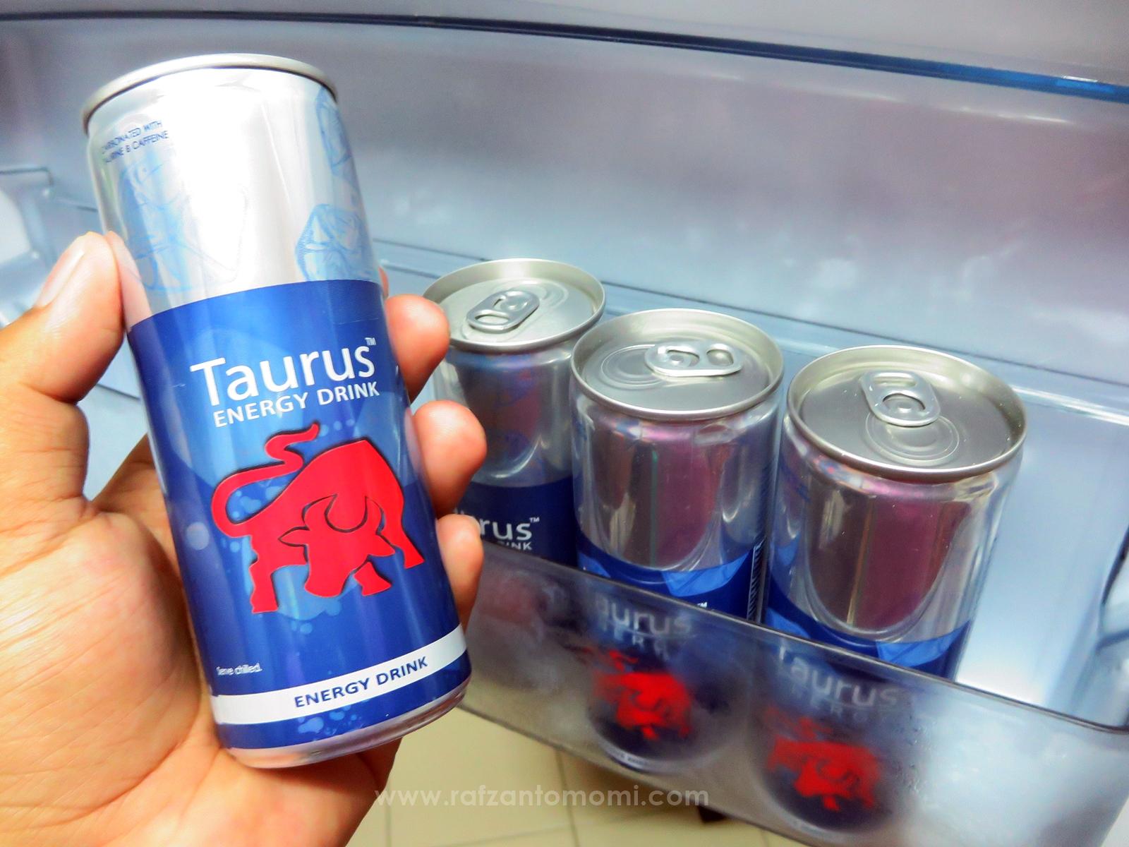 Kekal Aktif & Bertenaga Bersama Taurus Energy Drink!