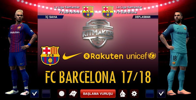8959ce17eaa Barcelona Leaked Kit 2017-2018 - PES 2013 - PATCH PES | New Patch ...