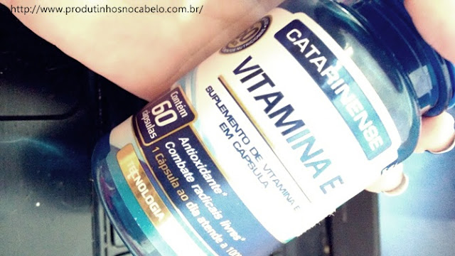 vitamina E para o cabelo