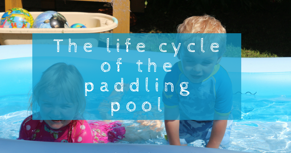The heat is on the life cycle of a paddling pool whinge for Paddling pool heater