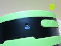 LED Leuchte: OUTAD 2-in-1 Outdoor Wireless Bluetooth Lautsprecher & LED Lampe mit eingebautem Mikrofon, einstellbarem Licht und Broadcom 3.0
