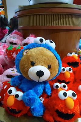 Souvenirs at Sesame Street USJ Osaka Japan