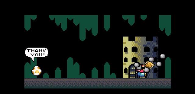 Final terceiro castelo mario