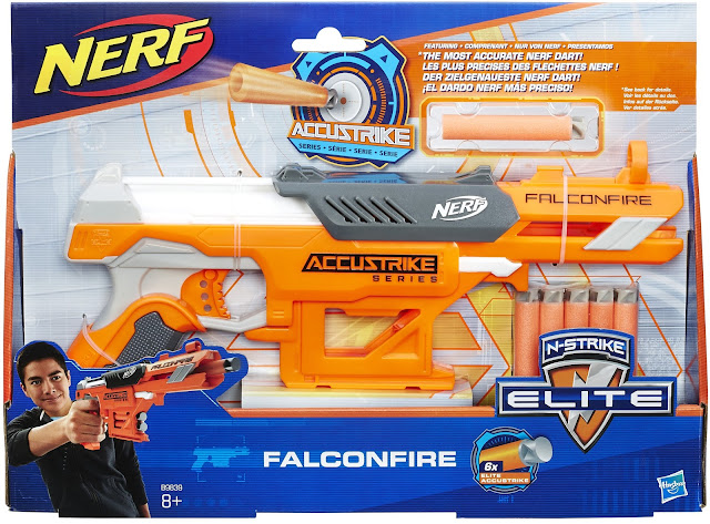 Introducing Nerf AccuStrike - Get Ready to Battle with Accuracy @Hasbro #FalconFire