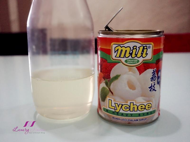 ntuc mili lychee heavy syrup recipe